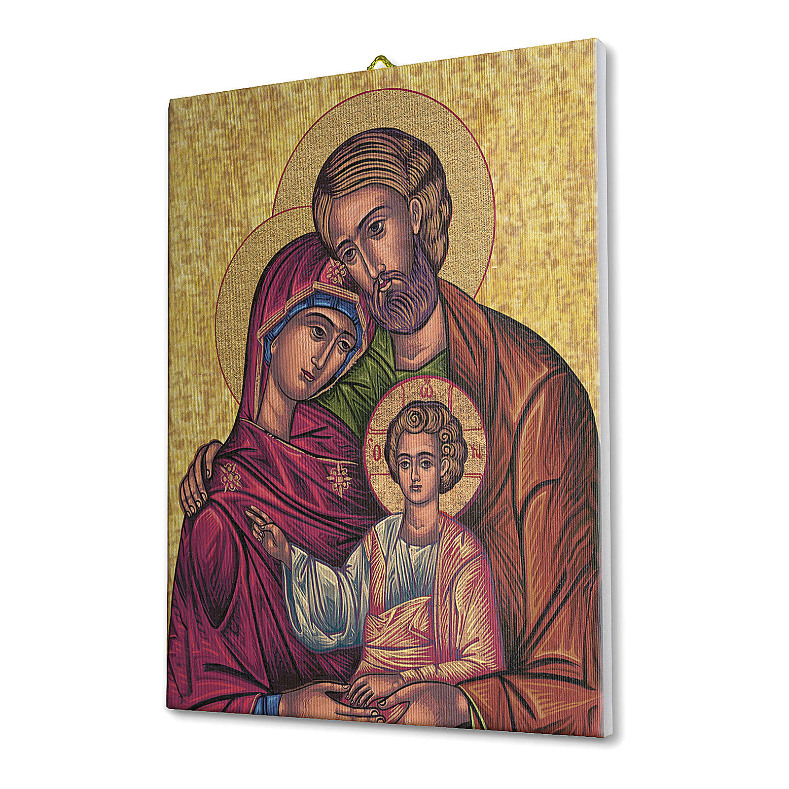 Icon of the Holy Family canvas print 25x20 cm 3