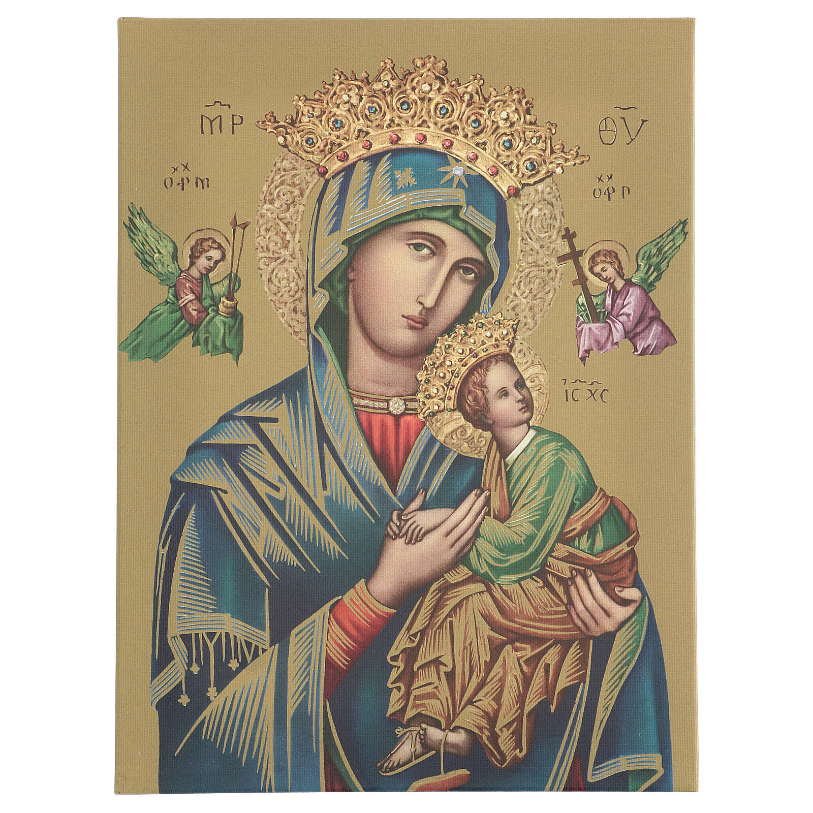 Our Lady of Perpetual Help print on canvas 40x30 cm 3