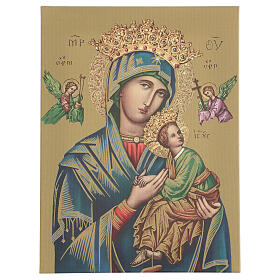 Our Lady of Perpetual Help print on canvas 40x30 cm s1