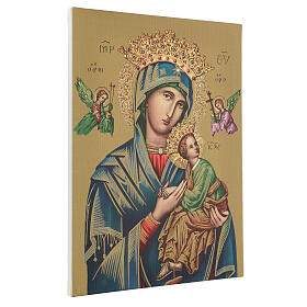 Our Lady of Perpetual Help print on canvas 40x30 cm s3