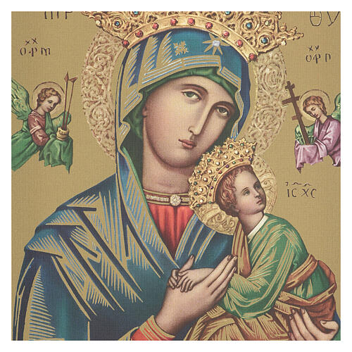 Our Lady of Perpetual Help print on canvas 40x30 cm 2
