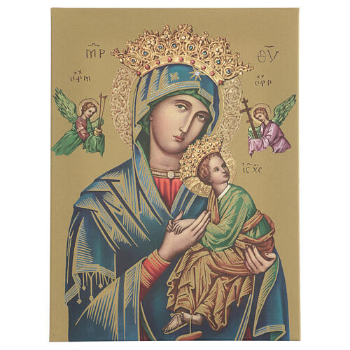 Our Lady of Perpetual Help print on canvas 70x50 cm 1