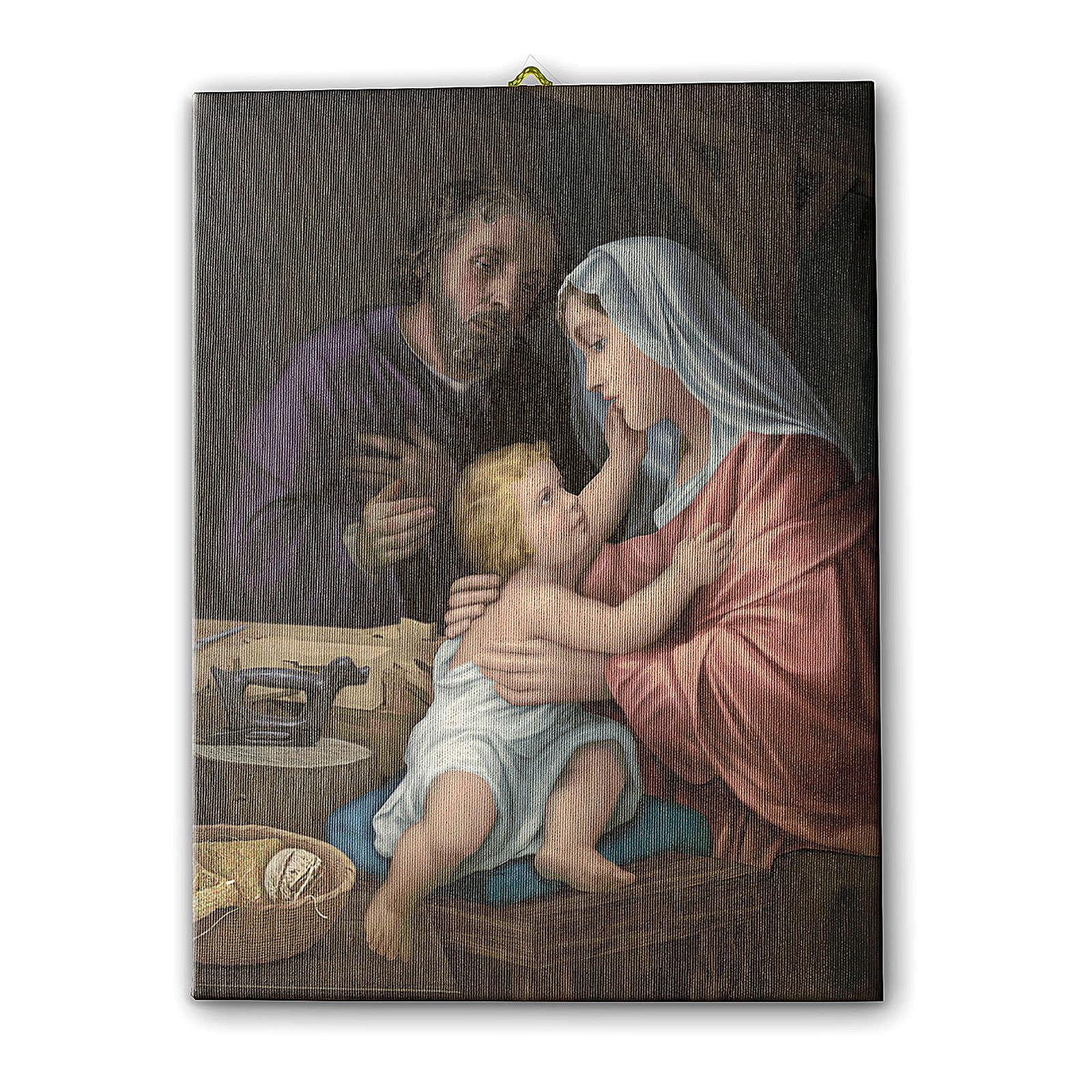 Holy Family canvas print 40x30 cm 3