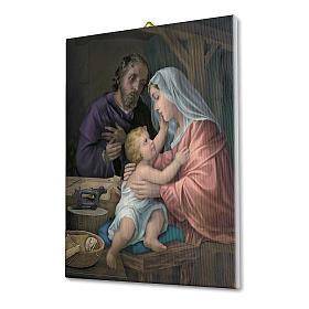 Holy Family canvas print 40x30 cm s2