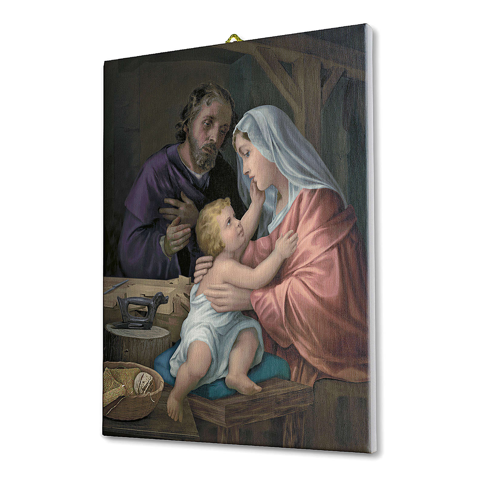 Holy Family canvas print 70x50 cm 3