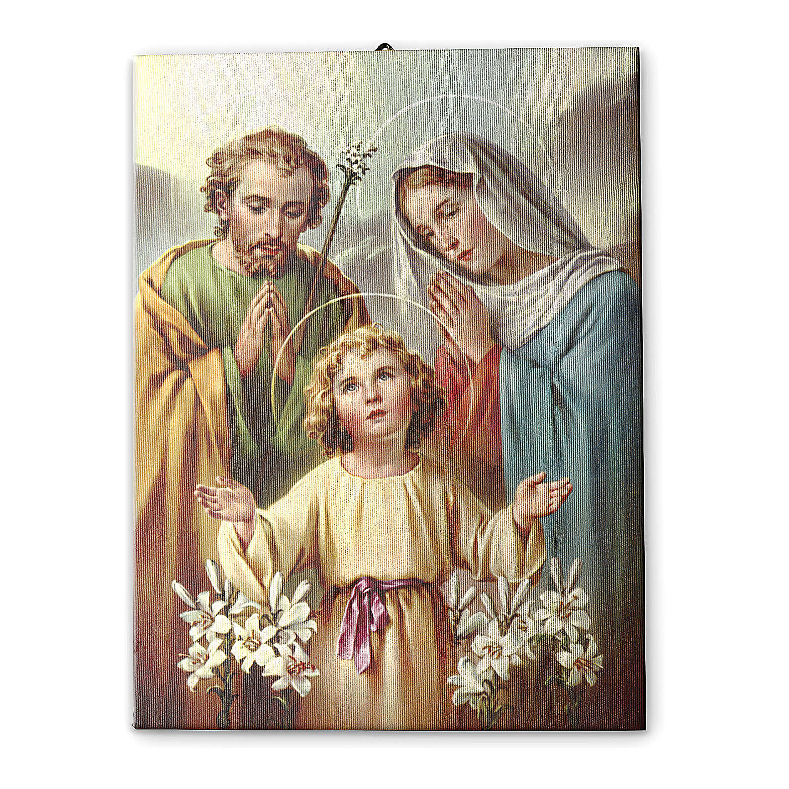 Holy Family of Nazareth printed on canvas 70x50 cm 3