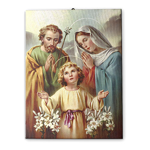 Holy Family of Nazareth printed on canvas 70x50 cm 2