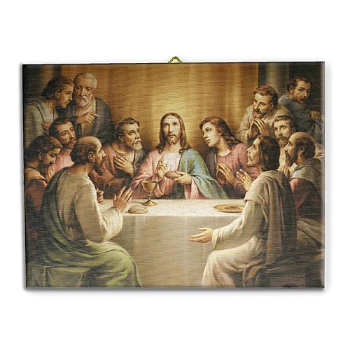 Last Supper canvas print 25x20 cm 1