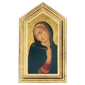 Icona stampa Annunciazione Simone Martini 20x25 cm s1