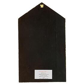 Icona stampa Annunciazione Simone Martini 20x25 cm s4