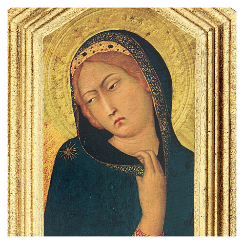 Icona stampa Annunciazione Simone Martini 20x25 cm 2