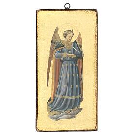 Cuadro impresa ángel Beato Angélico 30x15 cm s1