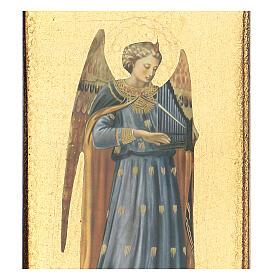 Cuadro impresa ángel Beato Angélico 30x15 cm s2