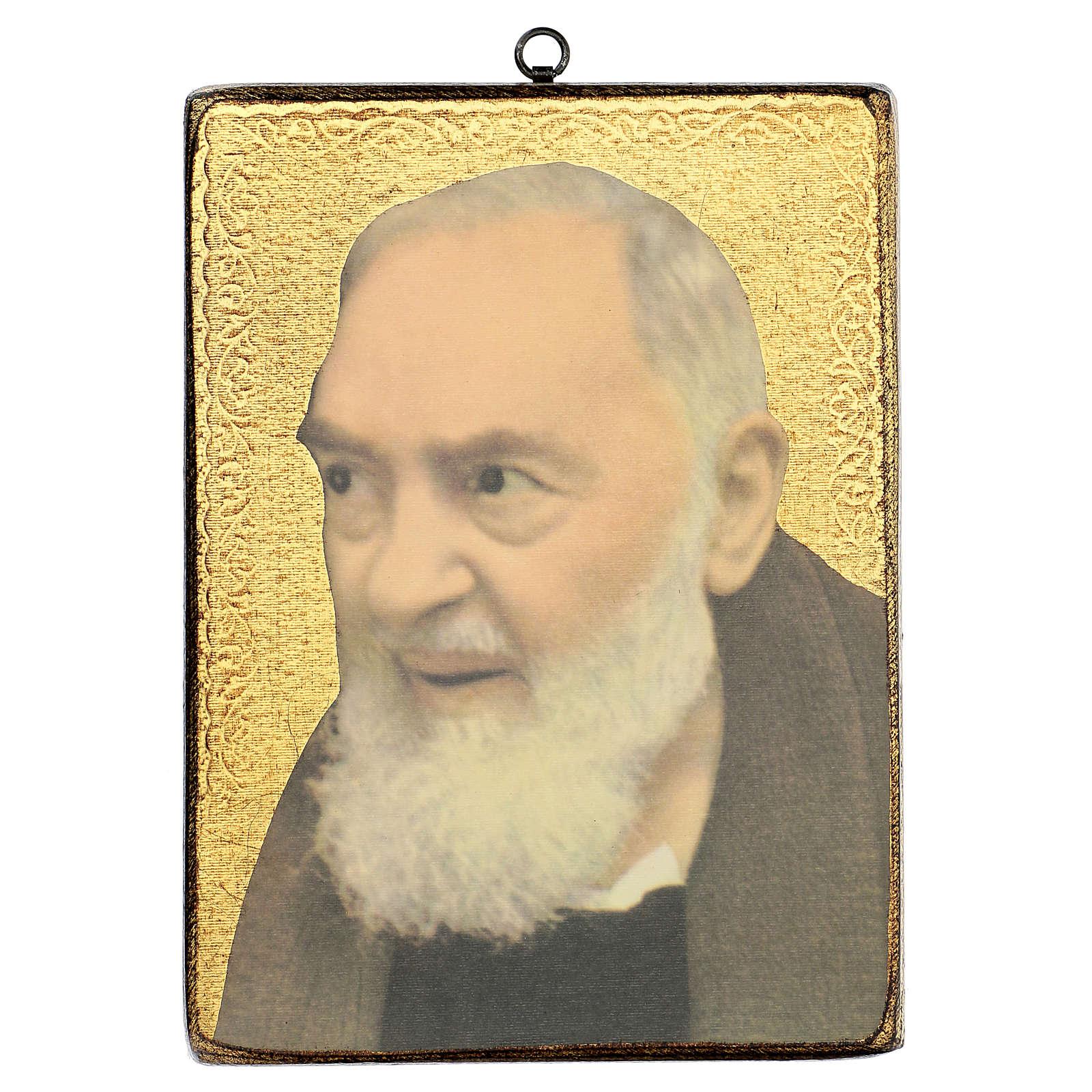 Quadro stampa San Pio 25x20 cm 3