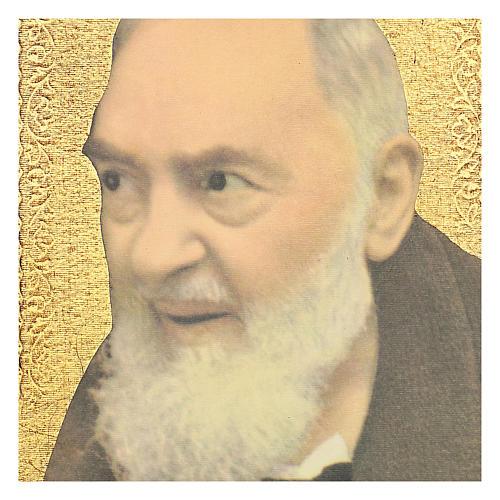 Quadro stampa San Pio 25x20 cm 2