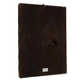 Cuadro impresa madera Virgen Odigitria 45x35 cm s3