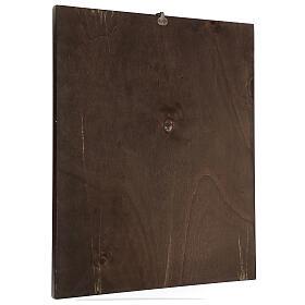 Cuadro impresa madera Santa Rita 50x40 cm s3