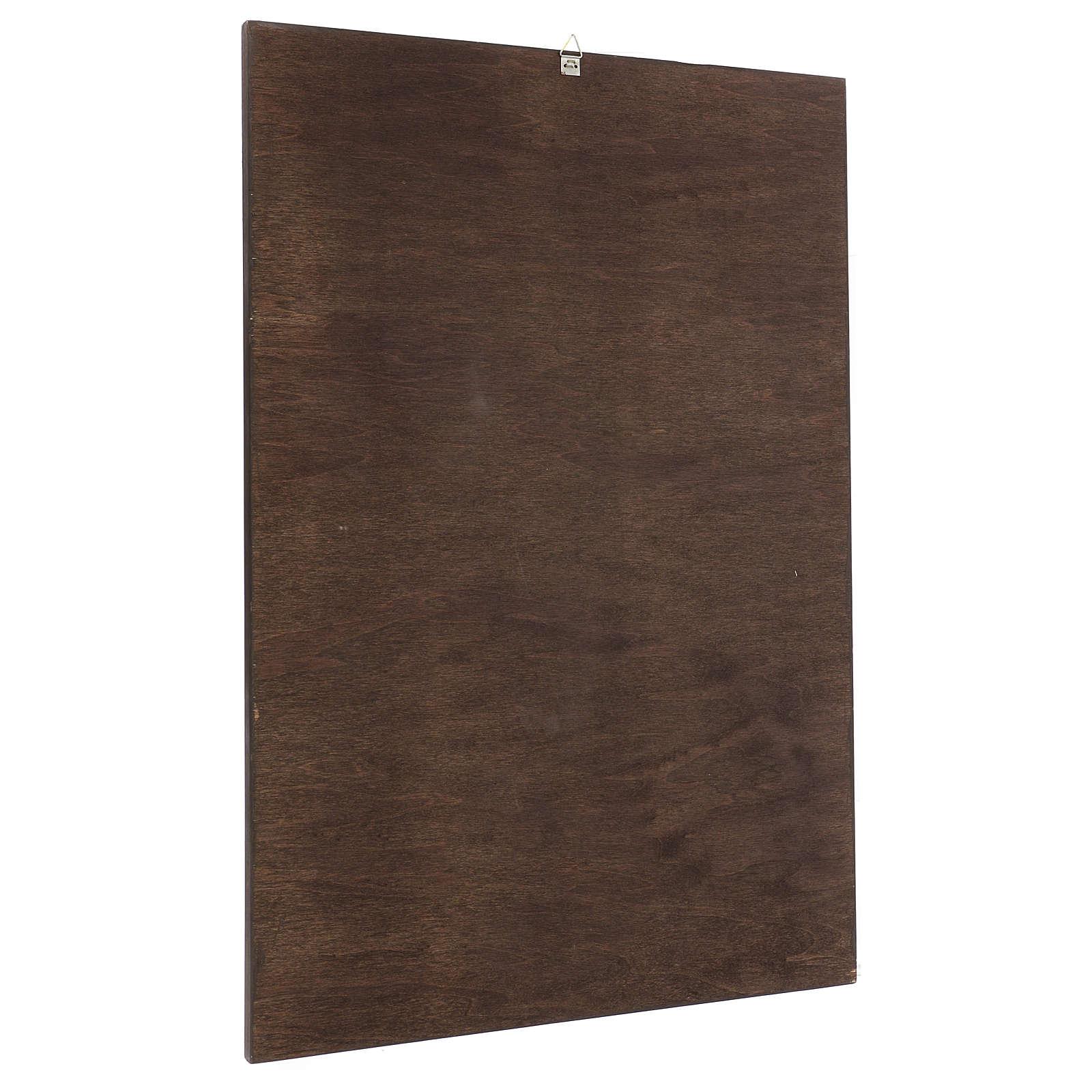 Quadro stampa su legno Figliol Prodigo 60x40 cm 3