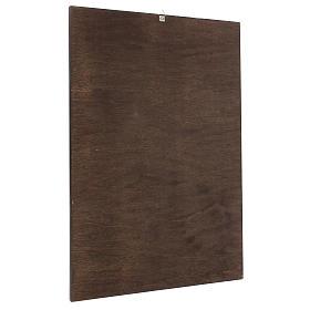 Quadro stampa su legno Figliol Prodigo 60x40 cm s3