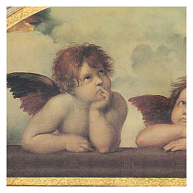 Print painting angels of Raphael 40x60 cm s2