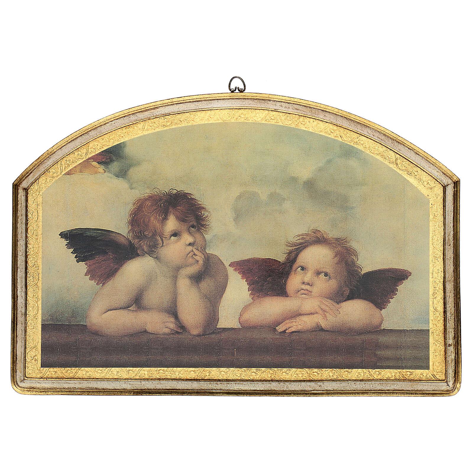 Cuadro impresa ángeles de Rafael 40x60 cm 3