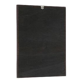 Cuadro impresa de maderas de Santos 20x25 cm s2