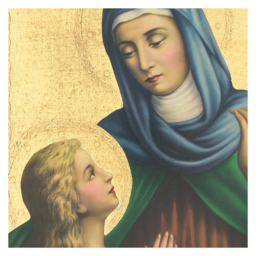 Painting of St. Anne 35x27 cm 2