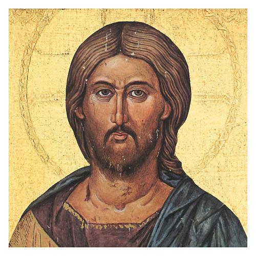 Quadro stampa Cristo Pantocratore 35x25 cm 2