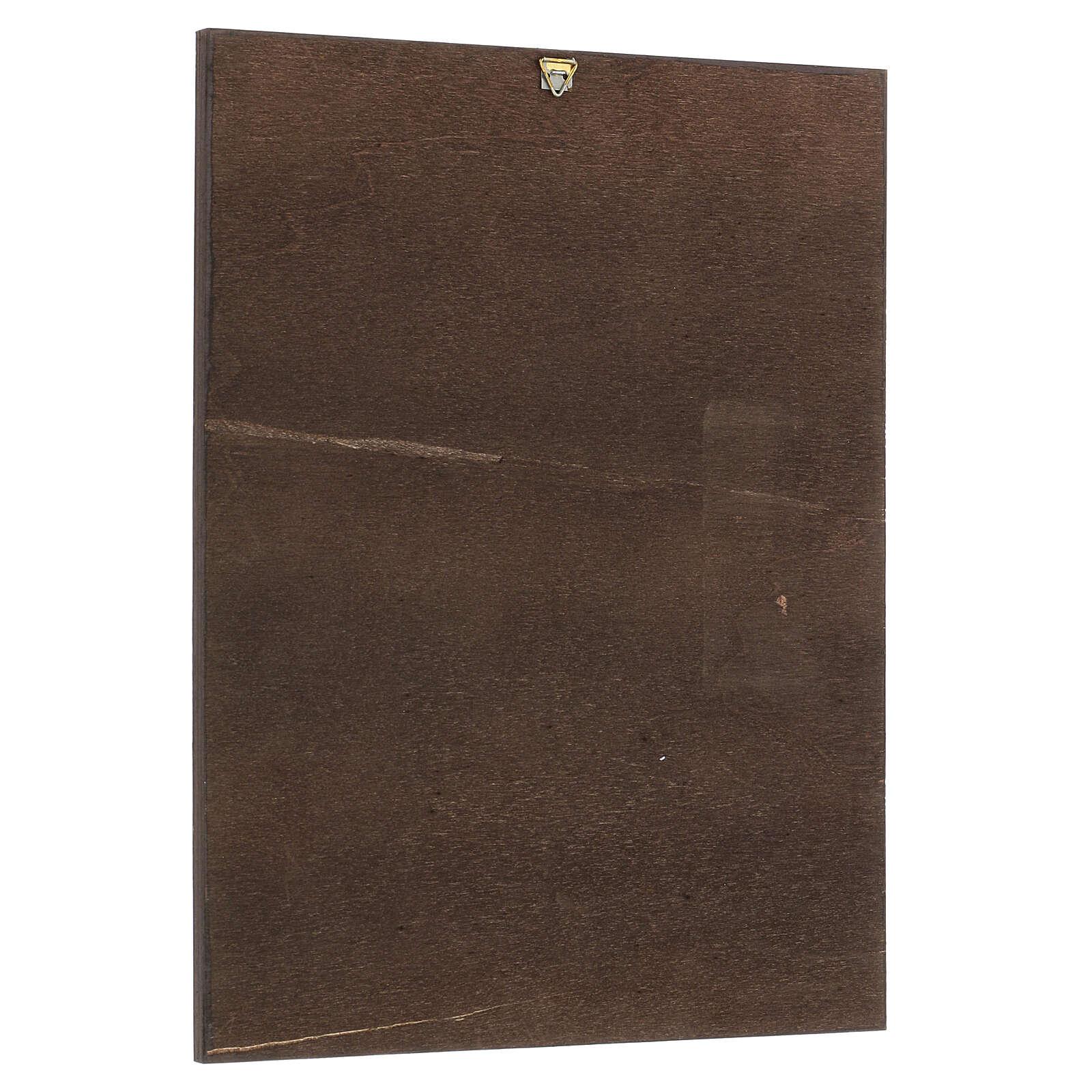 Cuadro impresa Santa Rita 30x25 cm 3