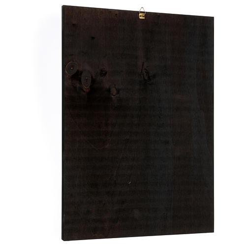 Quadro stampa Madonna Czestochowa 35x25 cm 3