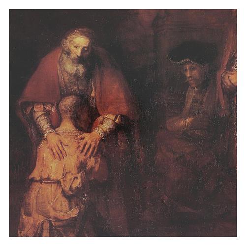 Quadro stampa Figliol Prodigo 35x25 cm 2