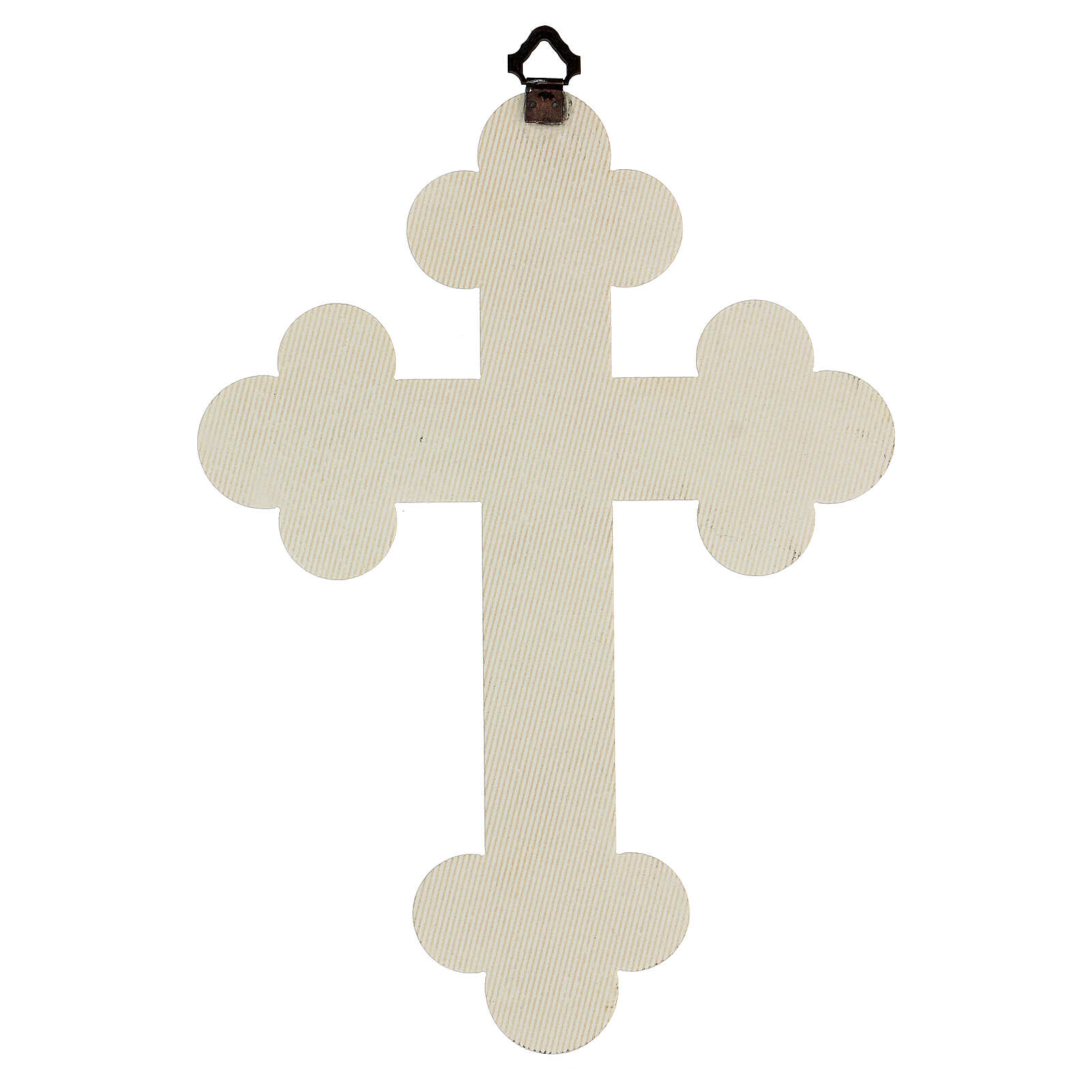 Cadre en croix en plaque de céramique 25x20 cm 3