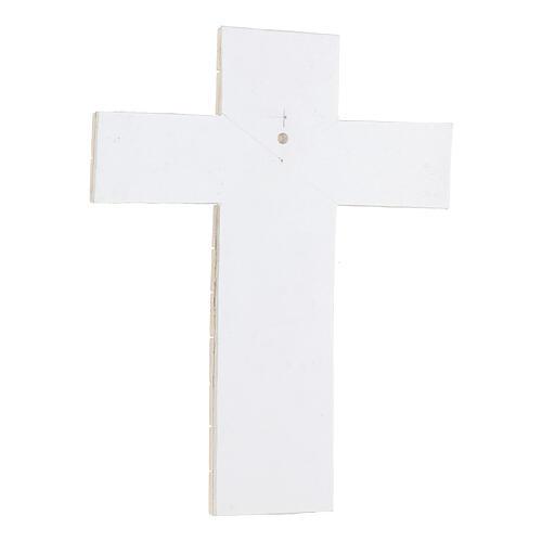 Cruz mosáico terracota 30x25 cm 3