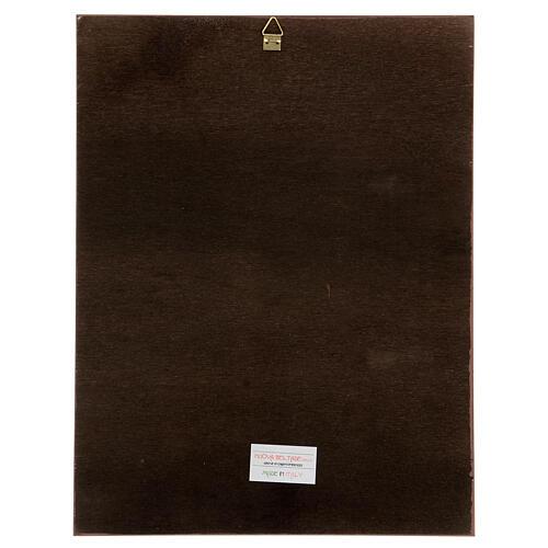 Cuadro impresa madera Dolorosa de Carlo Dolci 30x25 4