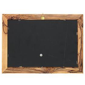 Cornice Albero della Vita ulivo Palestina 18x25 cm s4