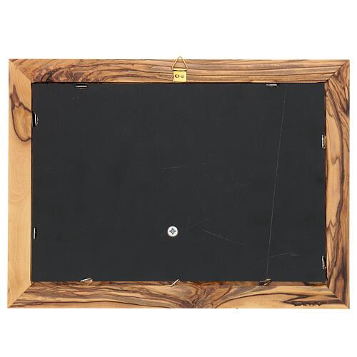 Cornice Albero della Vita ulivo Palestina 18x25 cm 4
