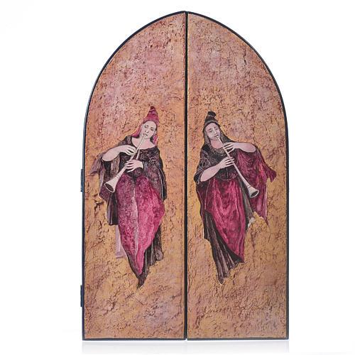 Sacred Family - Tabula Fenestrata by artist Mario Eremita 2