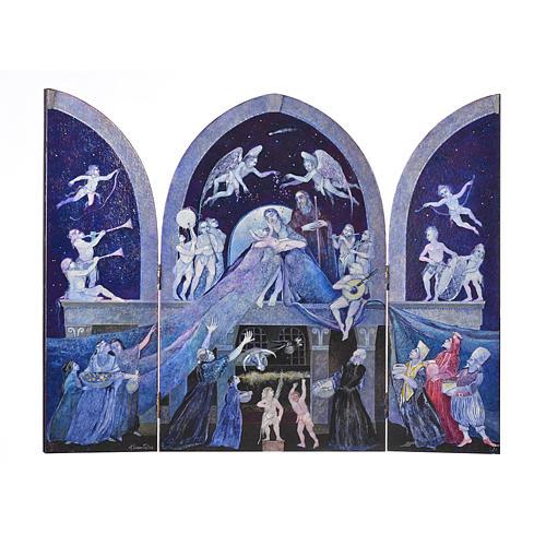 Holy Family - Tabula Fenestrata by artist Mario Eremita 1