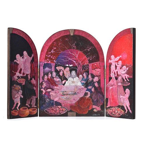 Last Supper - Tabula Fenestrata, Mario Eremita 1