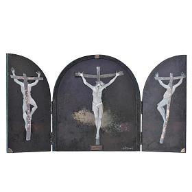 Tabula fenestrata Crocifissione artista Mario Eremita s1