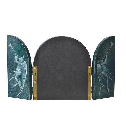 Tabula fenestrata Crocifissione artista Mario Eremita 2