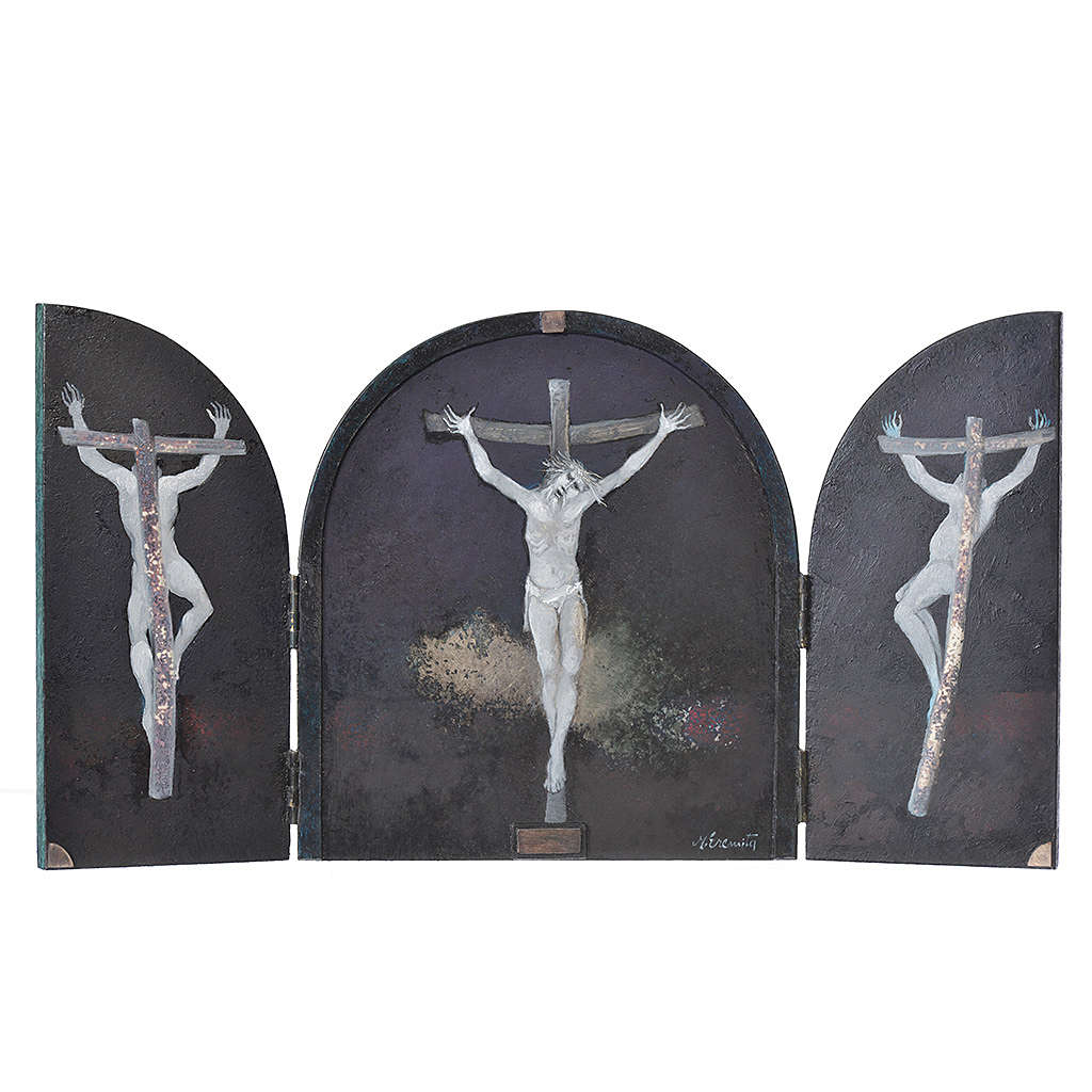 Crucifixion - Tabula Fenestrata, Mario Eremita 3