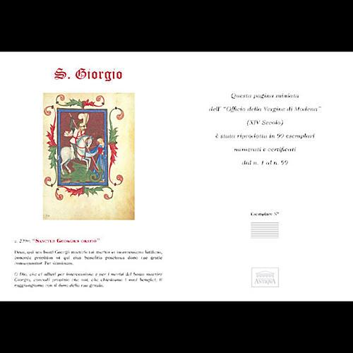San Giorgio codice miniato 5