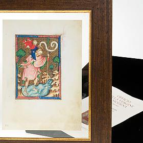 Saint Christopher illuminated manuscript s6