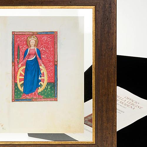 Sainte Catherine d'Alessandria code miniature 6