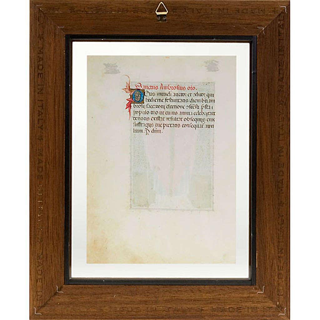 Sant'Ambrogio codice miniato 3