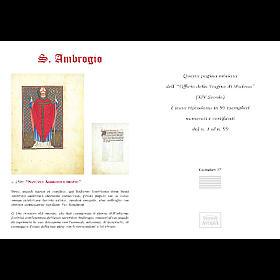 Sant'Ambrogio codice miniato s5
