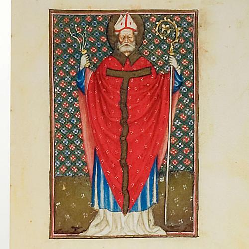 Sant'Ambrogio codice miniato 2