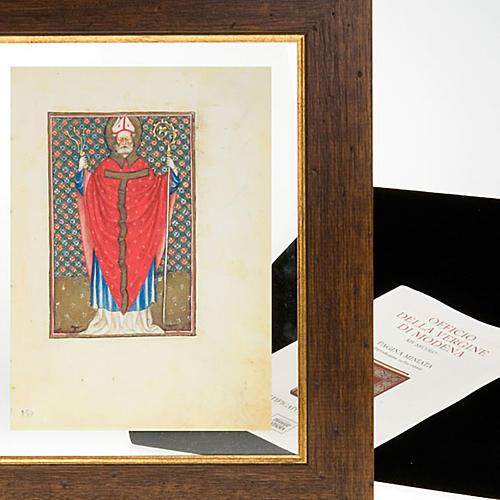 Sant'Ambrogio codice miniato 6