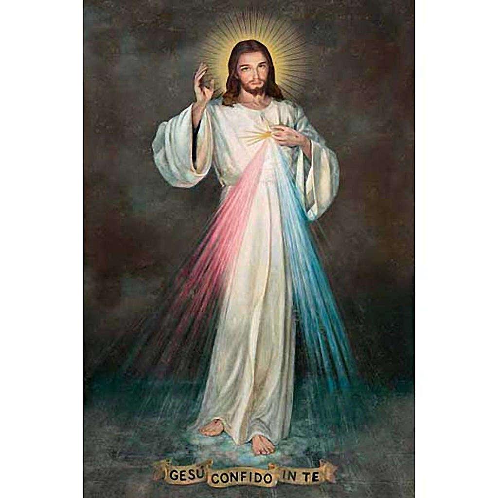 Druk plakat Jezus Miłosierny 3